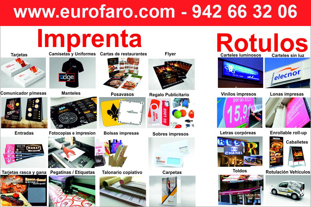 Servicios de Imprenta Serigrafía de Ropa Reprografía Print Shop y Rotulación Comercial