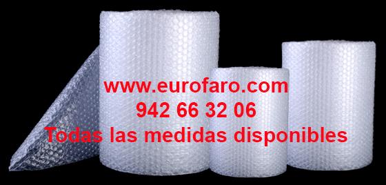 Rollos de Plástico de Burbuja para Protección de Envíos Paquetería Muebles Cuadros Cristal