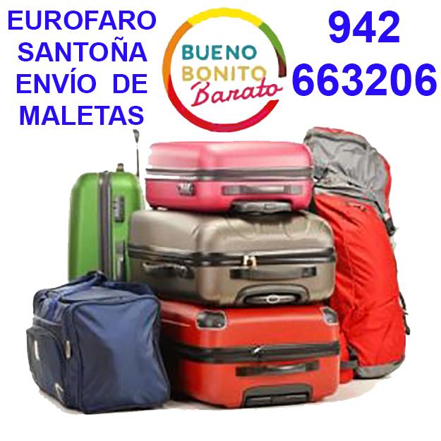 Servicio de Envío de Maletas Mensajería Paquetería Conservas Regalos en Santoña